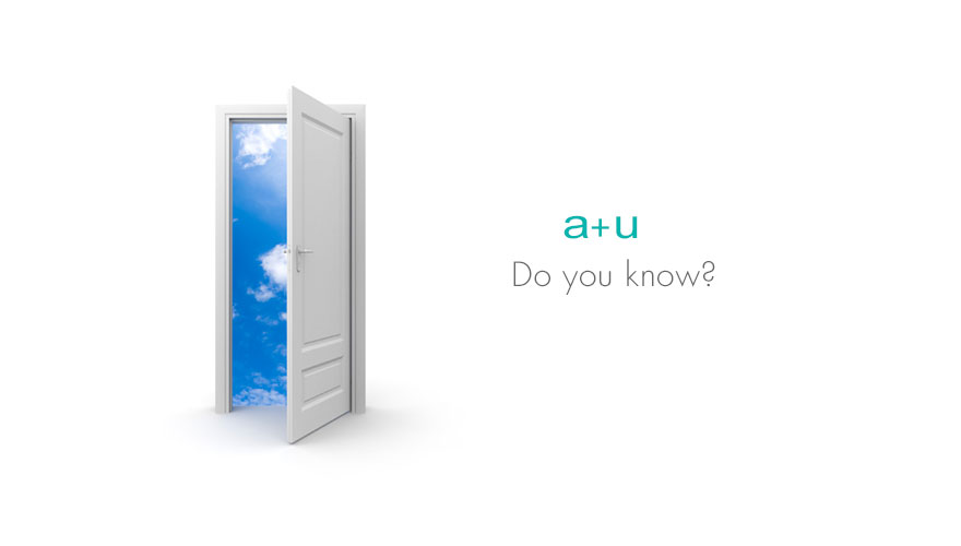 Do you know? a+u